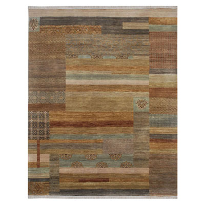 Jaipur Rugs Inc. Opus 10 x 14 Staccato Gray Brown/Honey Gold OP15