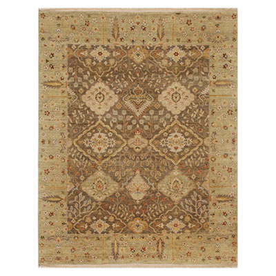 Jaipur Rugs Inc. Opus 10 x 14 Allegro Gray Brown/Sage Green OP16
