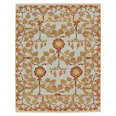 Jaipur Rugs Inc. Opus 4 x 6 Tree of Life Sky Blue/Sky Blue OP18