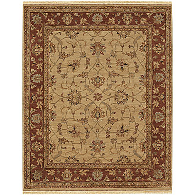 Jaipur Rugs Inc. Opus 10 x 14 Opera Soft Gold/Burnt Red OP09
