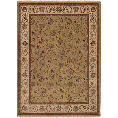 Jaipur Rugs Inc. Palatine 8 x 10 Lilly Light Green/Dark Ivory PL07