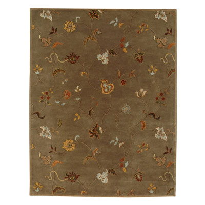 Jaipur Rugs Inc. Poeme 8 x 11 Alsace Gray Brown/Gray Brown PM01