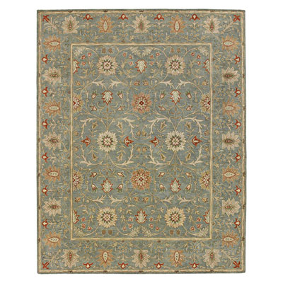 Jaipur Rugs Inc. Poeme 8 x 11 Rennes Sea Green/Sea Green PM05