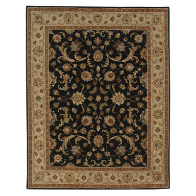Jaipur Rugs Inc. Poeme 8 x 11 Normandy Ebony/Sand PM06
