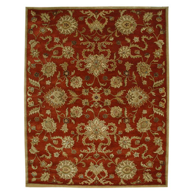 Jaipur Rugs Inc. Poeme 8 x 11 Marseille Red Oxide/Tan PM11