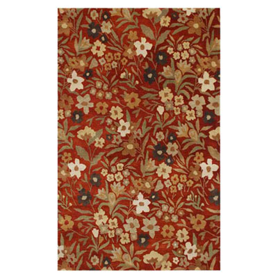 Jaipur Rugs Inc. Poeme 5 x 8 Toulouse Red Oxide/Red Oxide PM34