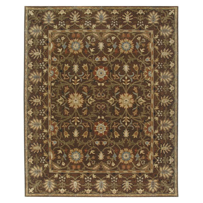 Jaipur Rugs Inc. Poeme 8 x 11 Rennes Cocoa Brown/Cocoa Brown PM37