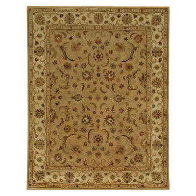 Jaipur Rugs Inc. Poeme 8 x 11 Normandy Dark Sand/Cloud White PM38