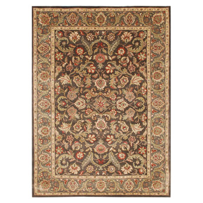 Jaipur Rugs Inc. Poeme 8 x 11 Gascony Dark Brown/Mushroom PM39