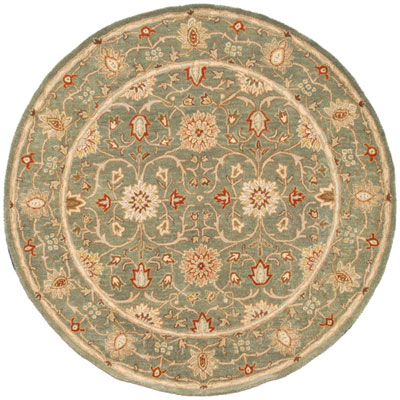 Jaipur Rugs Inc. Poeme 8 Round Rennes Sea Green/Sea Green PM05