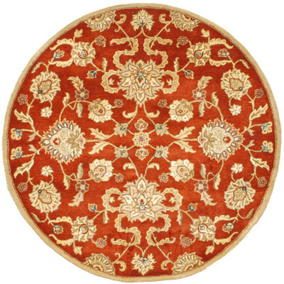 Jaipur Rugs Inc. Poeme 6 Round Marseille Red Oxide/Tan PM11