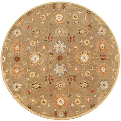 Jaipur Rugs Inc. Poeme 6 Round Nantes Gray Brown/Gray Brown PM14