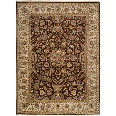 Jaipur Rugs Inc. Presidential 9 x 12 Salzburg Cocoa Brown/Dark Ivory PS11