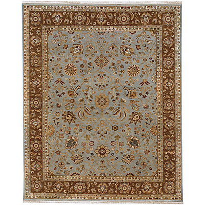 Jaipur Rugs Inc. Presidential 9 x 12 Vienna IceBlue Gold Brown GRT44979268