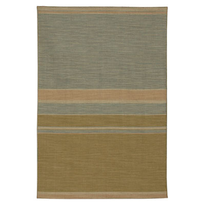 Jaipur Rugs Inc. Pura Vida 5 x 8 Nubes Apple Green/Sea Blue PV06