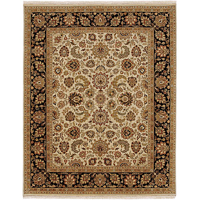Jaipur Rugs Inc. Royale 8 x 10 Savannah Light Gold/Ebony RY03