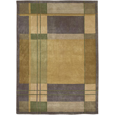 Kaleen Himalayan Treasure 10 x 14 Sherpa Plaid 3003-24