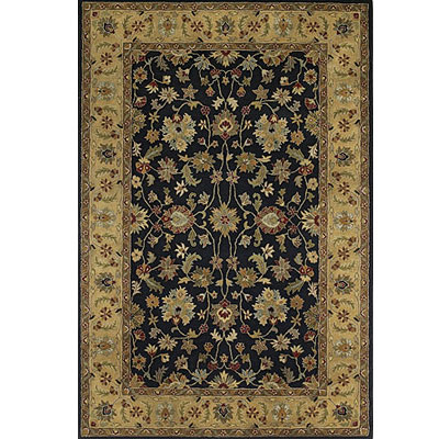Kaleen Mystical Garden 2 x 8 Runner Queens Garden Black 6041-02
