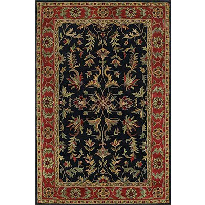 Kaleen Mystical Garden 4 x 5 Royal Garden Black 6027-02
