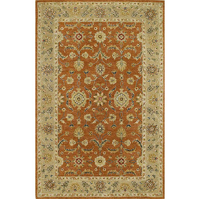 Kaleen Taxila 2 x 8 Runner Andaman Tangerine Orange 1512-32