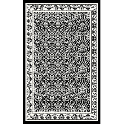 Kane Carpet After Hours 2 x 3 Panel White on Black 1503/90