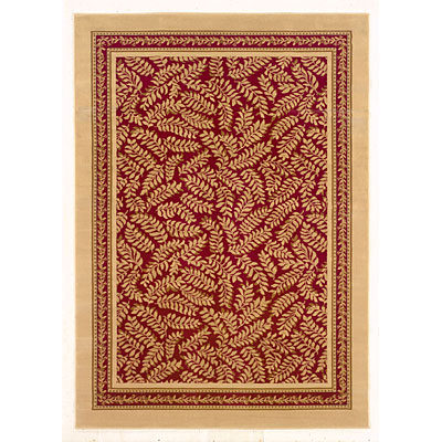 Kane Carpet American Dream 9 x 13 Enchanting Berry Cream 7009/36