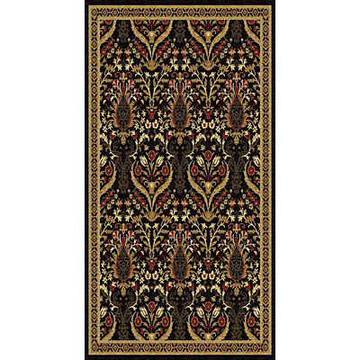 Kane Carpet American Dream 2 x 8 runner Isphahan Gold 8663/80