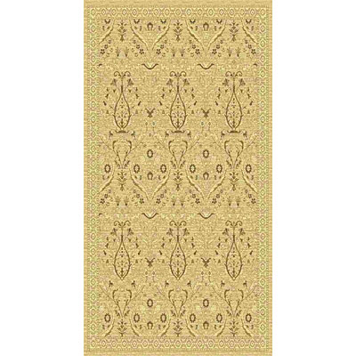 Kane Carpet American Dream 2 x 8 runner Isphahan Neutral 8663/16
