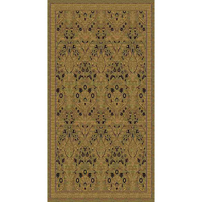 Kane Carpet American Dream 9 x 13 Isphahan Sage 8663/70