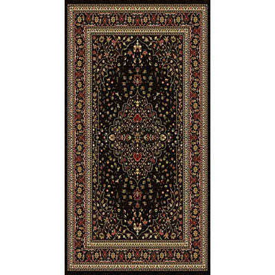 Kane Carpet American Dream 2 x 8 runner Medallion Black 8664/08