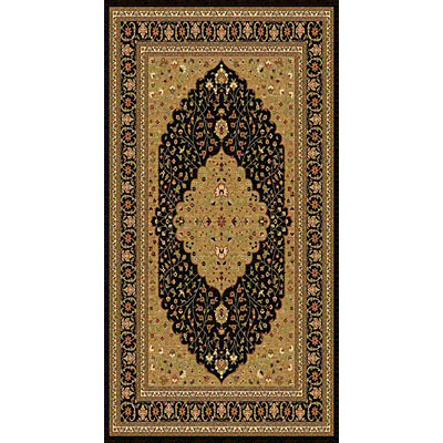 Kane Carpet American Dream 2 x 8 runner Medallion Gold 8664/80