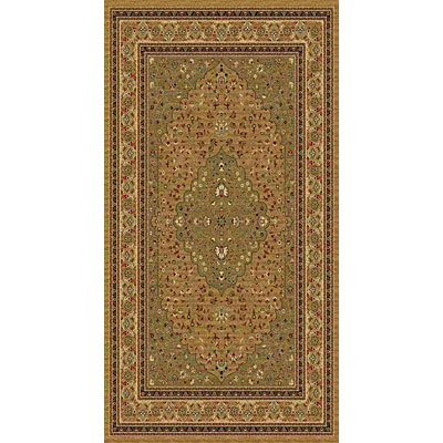 Kane Carpet American Dream 2 x 8 runner Medallion Sage 8664/70