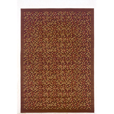 Kane Carpet American Dream 2 x 3 Mosaics Mocha Madness 7001/10
