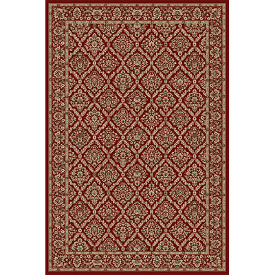 Kane Carpet American Luxury 5 x 8 Davinci Bristol Red 5900/35