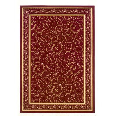 Kane Carpet American Luxury 8 x 10 Specail Edition Poinsettia 5810/30