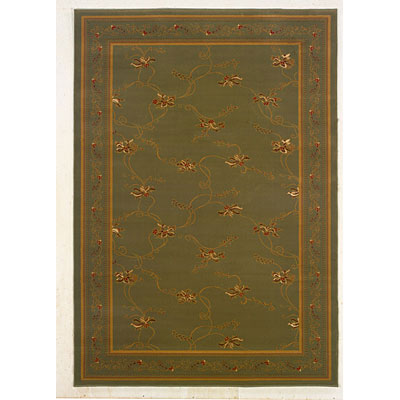 Kane Carpet American Luxury 8 x 10 Stunning Green Meadows 5811/70