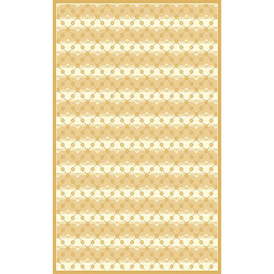 Kane Carpet Central Park 2 x 3 Trellis Gold 5700/15