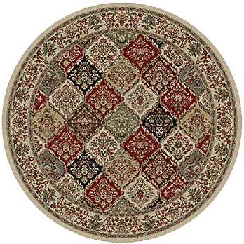 Kane Carpet Davinci Round 5 x 3 Peacock Magic Round 5900/90