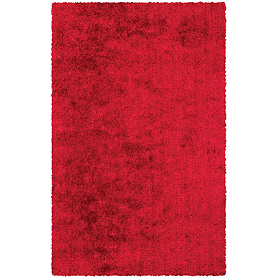 Kane Carpet Disco Shag 2 x 8 runner Rhythm Red 6900 35