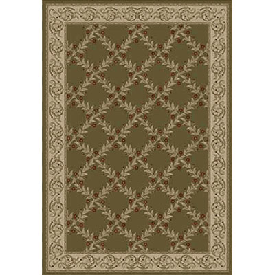 Kane Carpet Elegance 9 x 13 Incredible Laurel Wreath 7700-65