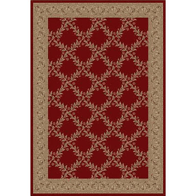 Kane Carpet Elegance 5 x 8 Incredible Sangria 7700-35