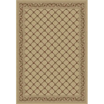 Kane Carpet Elegance 5 x 8 Traditional Trellis 24 Carat 7701-15