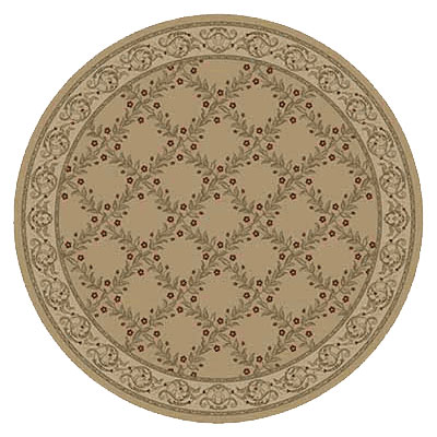 Kane Carpet Elegance 8 Round Incredible Quiet Gold 7700-15