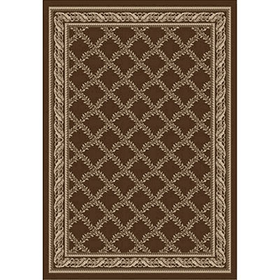 Kane Carpet Grand Elegance 5 x 8 Awesome Firewood 7750-70
