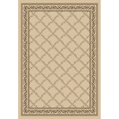 Kane Carpet Grand Elegance 5 x 8 Awesome Norfolk Cream 7750-05