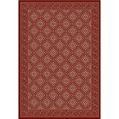 Kane Carpet Grand Elegance 5 x 8 Warm Feelings Scarlet Sparkle 7753-35