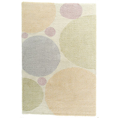 Kane Carpet Heaven Shag 4 x 6 Bubbles Confetti 6701/30