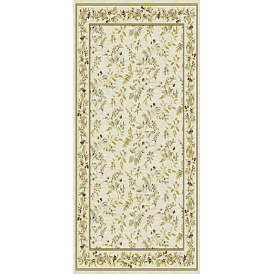 Kane Carpet Majestic 2 x 8 runner Floral Neutral 5950/05