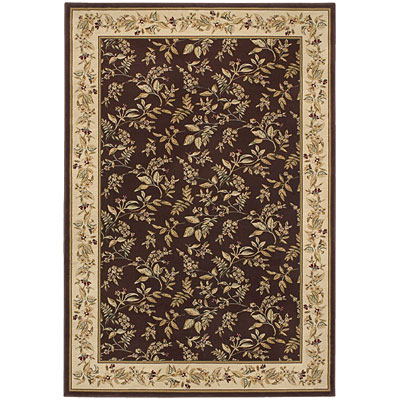 Kane Carpet Majestic 8 x 10 (Dropped) Floral Raisin 5950/80