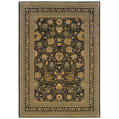 Kane Carpet Regency 2 x 3 Agra Charcoal 5008/80